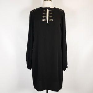 DVF   Florina Mini Dress in Black